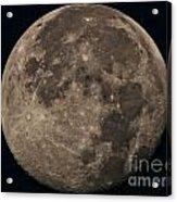 Super Moon 3628 August 2014 Acrylic Print