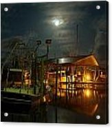Super Moon At Nelsons Acrylic Print
