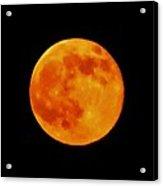 Super Moon Hatteras Island 7/12/2014 Acrylic Print