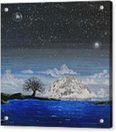 Super Moon Acrylic Print by Jim Bowers