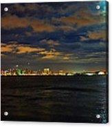 Super Moon Over San Diego 1 Acrylic Print