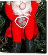 Super Santa Acrylic Print