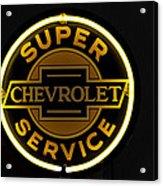 Super Service Acrylic Print