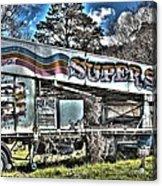 Super Slide Acrylic Print