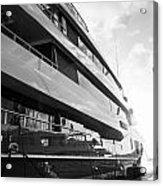 Super Yacht Acrylic Print