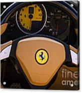 Supercar Dash Acrylic Print