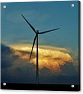 Supercell Windmill Acrylic Print