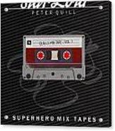 Superhero Mix Tapes - Star-lord Acrylic Print