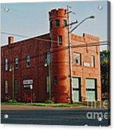 Superior Fire House Acrylic Print