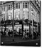 Supermacs Fast Food Restaurant Oconnell Street Dublin Republic Of Ireland Acrylic Print