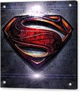 Superman Series 05 Acrylic Print