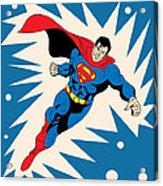 Superman 8 Acrylic Print