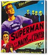 Superman And The Mole-men, Aka Superman Acrylic Print