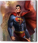 Man Of Steel Acrylic Print