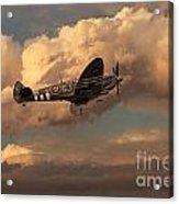 Supermarine Spitfire Mk Lfix  Acrylic Print
