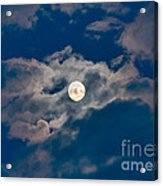Supermoon Acrylic Print
