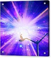 Supernova Ix Acrylic Print