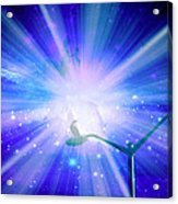 Supernova Viii Acrylic Print