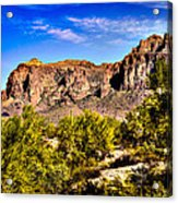 Superstition Mountain Arizona Acrylic Print