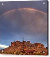 Superstition Rainbow  Acrylic Print