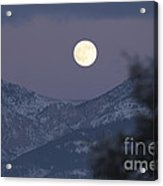Superstition Twilight Acrylic Print