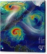 Superstorm Sandy Acrylic Print