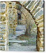 Supporting The Walls Acrylic Print