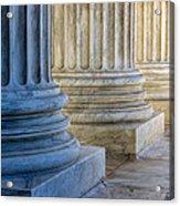 Supreme Court Colunms Acrylic Print