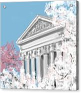 Supreme Court Washington Dc Acrylic Print