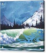 Surf And Snow Acrylic Print