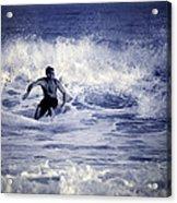 Surf At Summer Acrylic Print