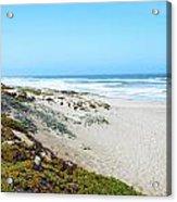Surf Beach Lompoc California 2 Acrylic Print