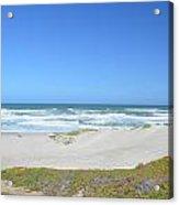 Surf Beach Lompoc California 3 Acrylic Print