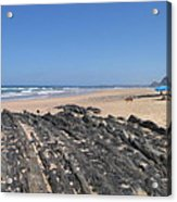 Surf Beach Portugal Acrylic Print