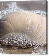 Surf Bubbles Acrylic Print