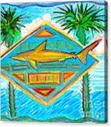 Surf Crest Acrylic Print