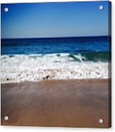 Surf Sand And Sky Acrylic Print