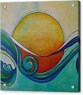 Surf Sun Spirit Acrylic Print