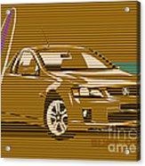 Surf Ute Acrylic Print