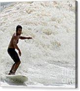 Surfer 0803b-2 Acrylic Print