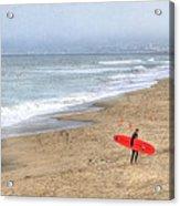 Surfer Boy Acrylic Print