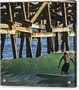 Surfer Dude 1 Acrylic Print