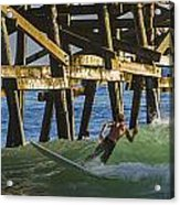 Surfer Dude 4 Acrylic Print