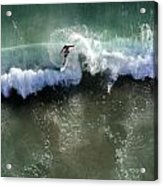 Surfer From The Sky Acrylic Print