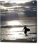 The Surfer Acrylic Print