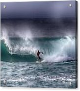 Surfing In The Usa V10 Acrylic Print