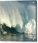 Surfing Jaws 1 Acrylic Print