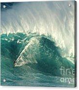 Surfing Jaws 2 Acrylic Print