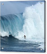 Surfing Jaws 4 Acrylic Print