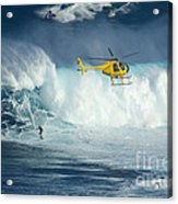 Surfing Jaws 6 Acrylic Print